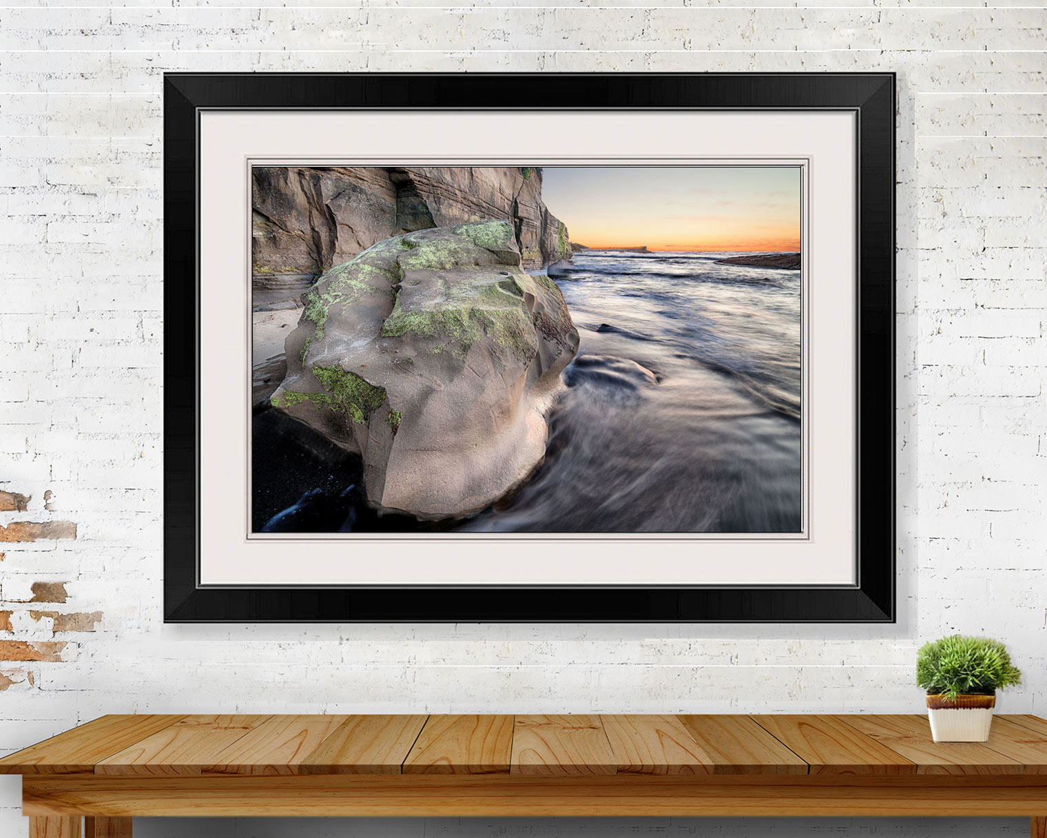 California Ocean Cliff Side